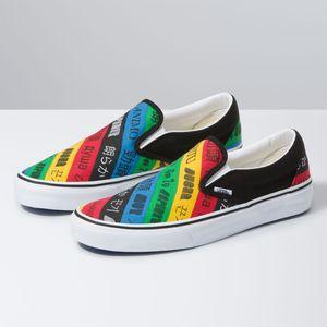 Zapatillas-Ua-Classic-Slip-On--Vans-Spirit--Multi-True-White