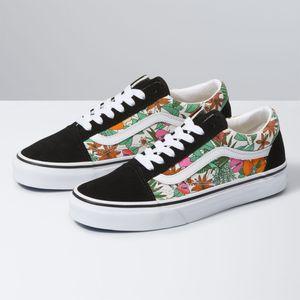 Zapatillas-Ua-Old-Skool--Multi-Tropic--Black-True-White