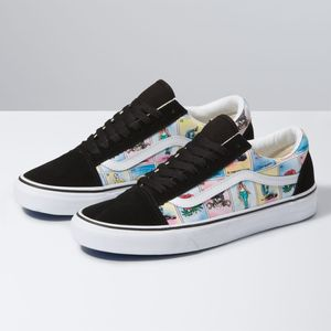 Zapatillas-Ua-Old-Skool--Los-Vans--Multi-True-White