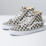 Zapatillas-Ua-Sk8-Hi-Tapered--Checkerboard--Black-True-White