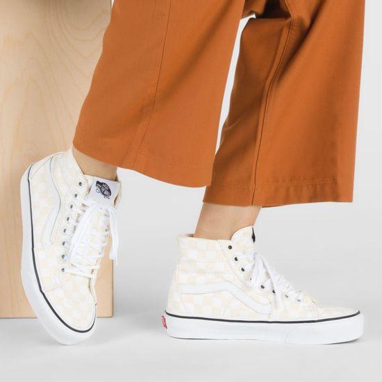 Zapatillas-Ua-Sk8-Hi-Tapered--Checkerboard--White-True-White