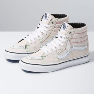 Zapatillas-Ua-Sk8-Hi--Vans-Emboss--White-True-White