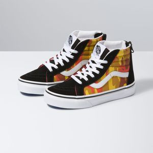 Zapatillas-Uy-Sk8-Hi-Zip-Youth--5-a-12-años---Desert-Camo--Multi-True-White