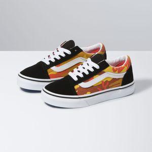 Zapatillas-Uy-Old-Skool-Youth--5-a-12-años---Desert-Camo--Multi-True-White