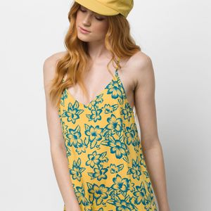 Vestido-Maria-Flutter-Dress-Yolk-Electric-Floral
