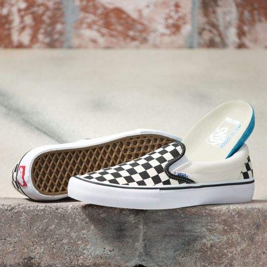 Zapatillas-MN-Slip-On-Pro--Checkerboard--Black-White