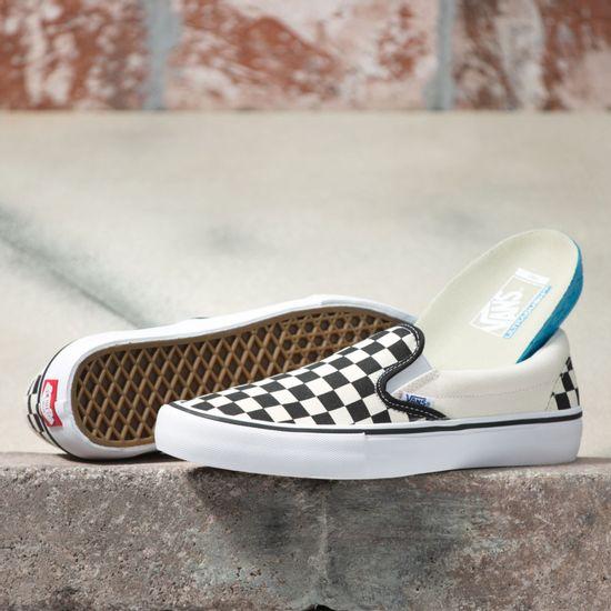 Zapatillas-MN-Slip-On-Pro--Checkerboard--Black-White