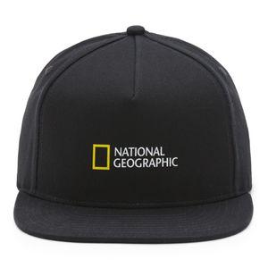 Gorro-Vans-X-Nat-Geo-Snapback-Boys-Youth--5-a-12-años--Black