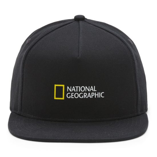 Gorro-Vans-X-Nat-Geo-Snapback-Boys-Youth--5-a-12-años--Black