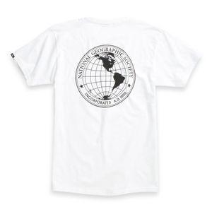 Polera-Vans-X-Nat-Geo-Globe-Ss-White