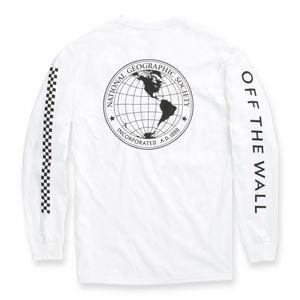Polera-Vans-X-Nat-Geo-Globe-Ls-White