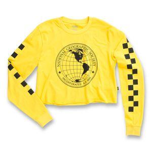 Polera-Nat-Geo-Ls-Crop-Cyber-Yellow