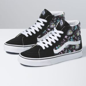 Zapatillas-Ua-Sk8-Hi--Paradise-Floral--Black-True-White