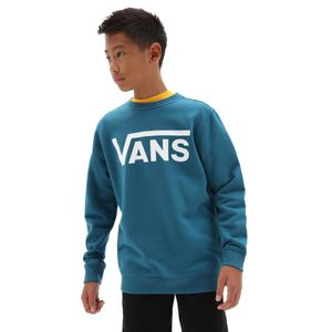 Poleron-Vans-Classic-Crew-Boys-Youth--5-a-12-años--Moroccan-Blue-White