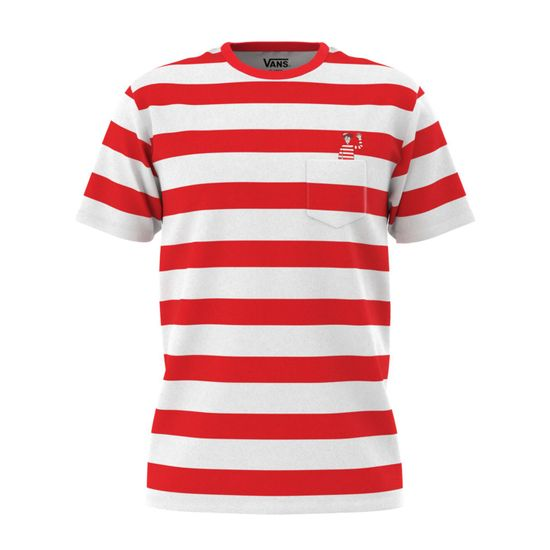 Polera-Vans-X-Where-S-Waldo-Stripe-Pocket--Where-S-Waldo--White-Racing-Red