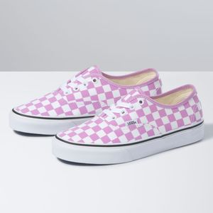 Zapatillas-Ua-Authentic--Checkerboard--Orchid-True-White