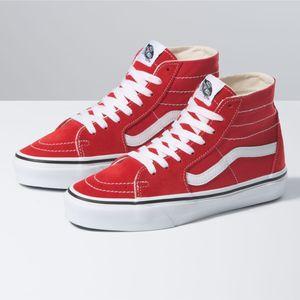 Zapatillas-Ua-Sk8-Hi-Tapered-Racing-Red-True-White