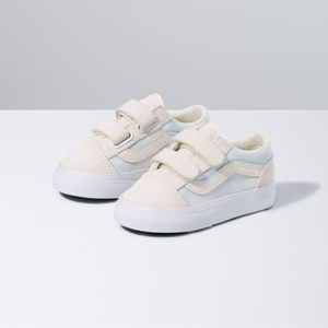 Zapatillas-Td-Old-Skool-V-Toddler--1-4-años---Bleach-Wash--Ballad-Blue-Marshmallow
