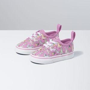 Zapatillas-Td-Authentic-Elastic-Lace-Toddler--1-4-años---Llamas--Orchid-True-White