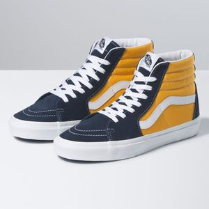Zapatillas-Ua-Sk8-Hi--Classic-Sport--Dress-Blues-Saffron