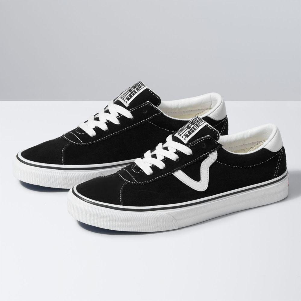 Zapatillas Ua Vans Sport (Suede) Black - Vans - Vans