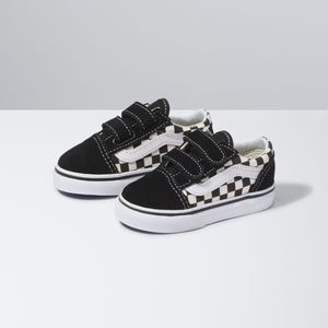 Zapatillas-Td-Old-Skool-V-Toddler--1-4-años---Primary-Check--Black-White