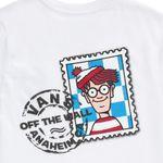 Polera-Vans-X-Where-S-Waldo-Stamp-Boys-Youth--5-a-12-años---Where-S-Waldo--Postage