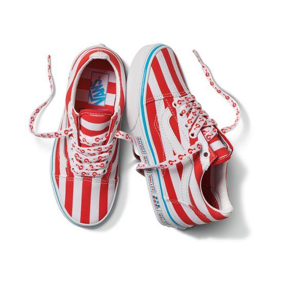 Zapatillas-Uy-Old-Skool-Youth--5-a-12-años---Where-S-Waldo---International-Stripes