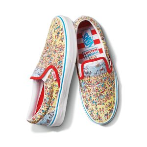 Zapatillas-Ua-Classic-Slip-On--Where-S-Waldo---Find-Steve-Beach