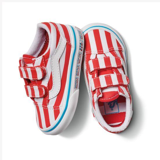 Zapatillas-Td-Old-Skool-V-Toddler--1-4-años---Where-S-Waldo---International-Stripes
