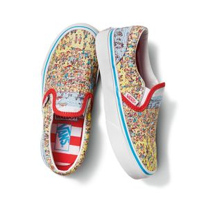 Zapatillas-Uy-Classic-Slip-On-Youth--5-a-12-años---Where-S-Waldo---Find-Steve-Beach