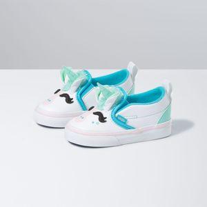 Zapatillas-Td-Slip-On-V-Uni-Toddler--1-4-años---Unicorn--Blue-Atoll-Iridescent
