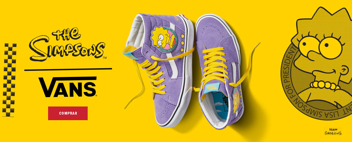 THE SIMPSONS   Vans Chile